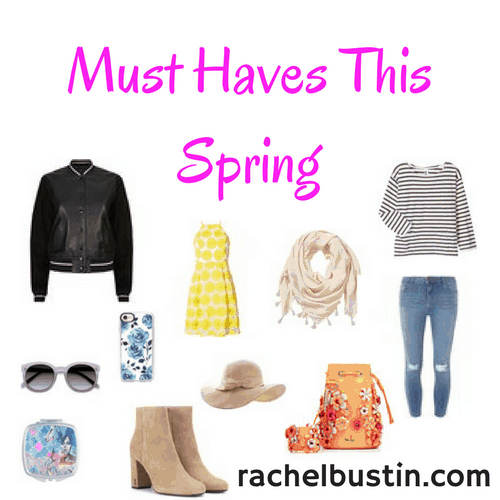 Must haves this Spring for your wardrobe
