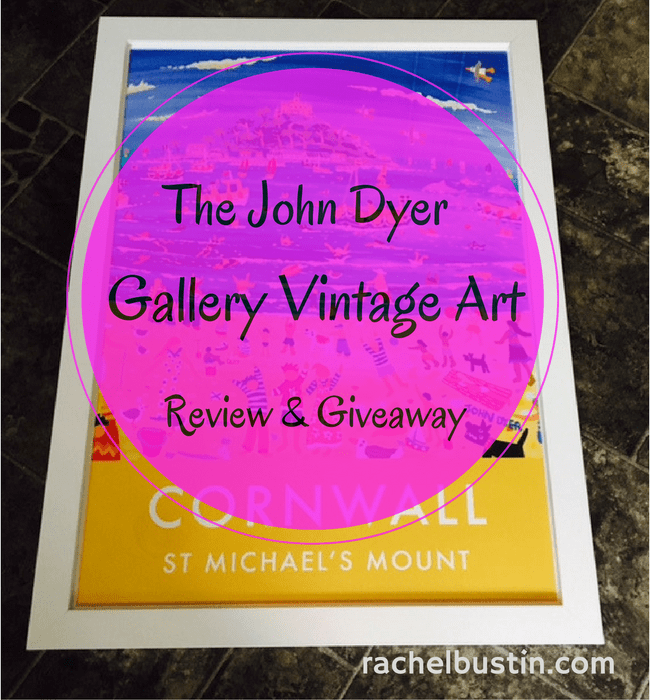 The John Dyer Gallery Vintage Style Art Review & Giveaway