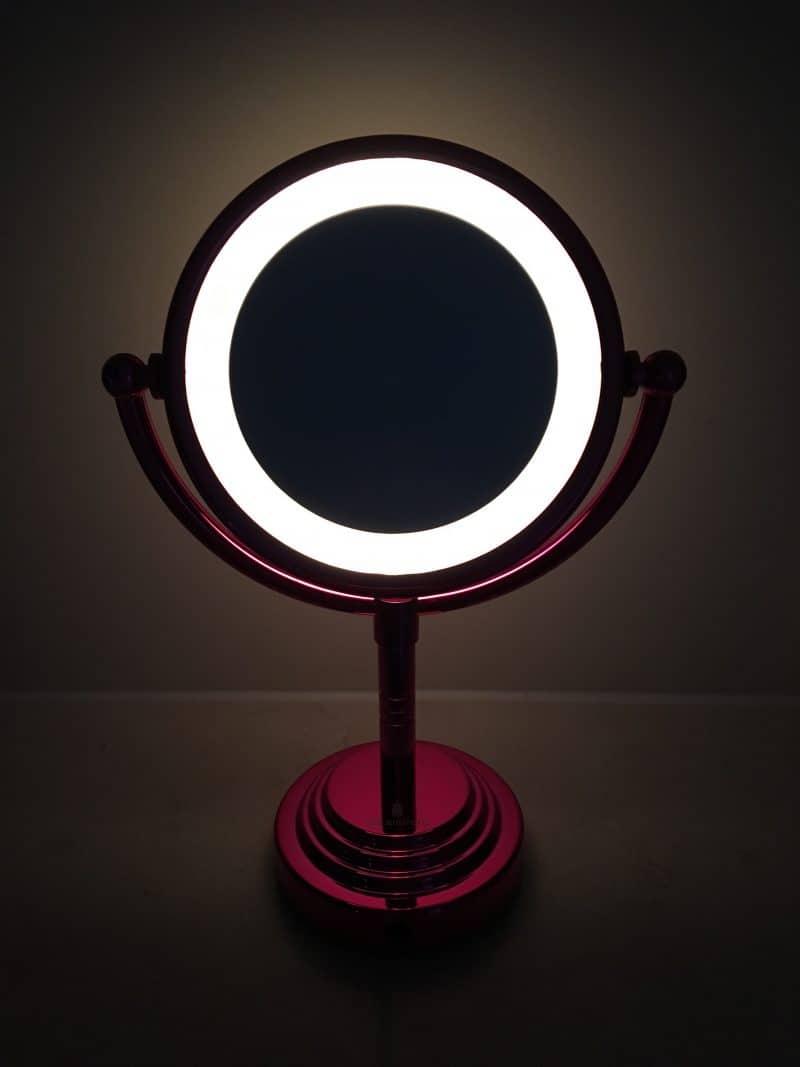 Lighten Up Mirror Illuminated