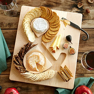 Cheese & Crackers Serving Board - Unusual gifts for Father's Day