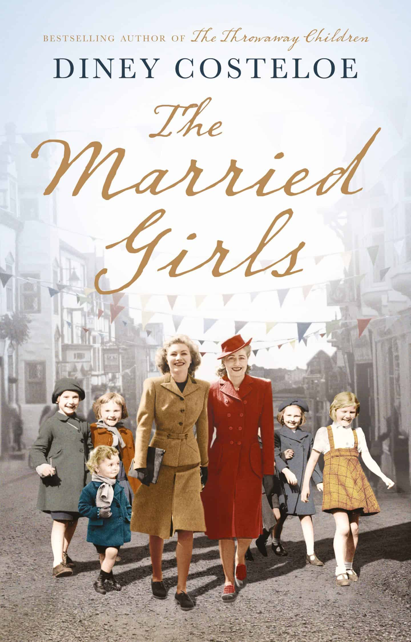 Book cover - The Married Girls