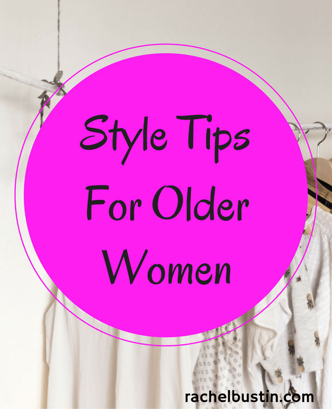Style tips for the older woman