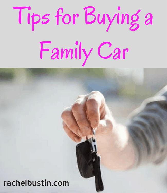 Must have Tips for buying a family car