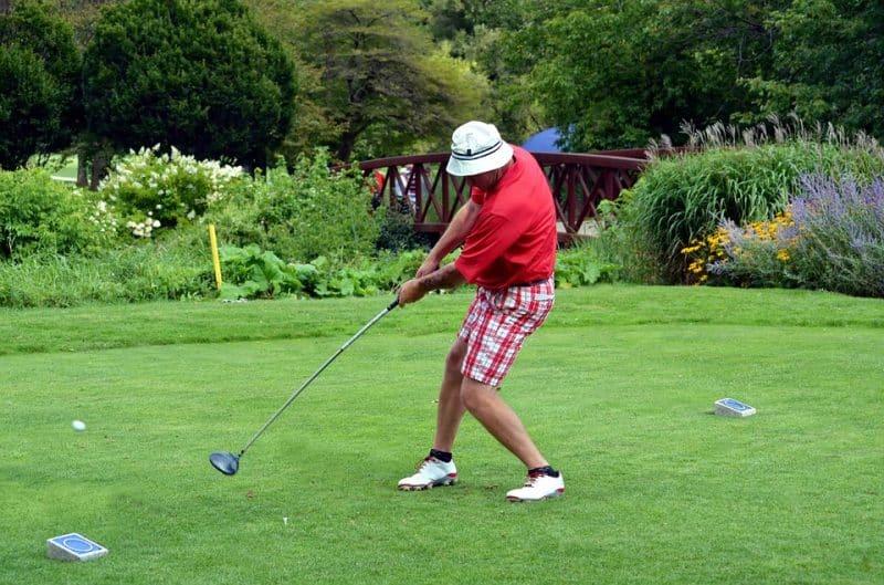 Finding a hobby like golf
