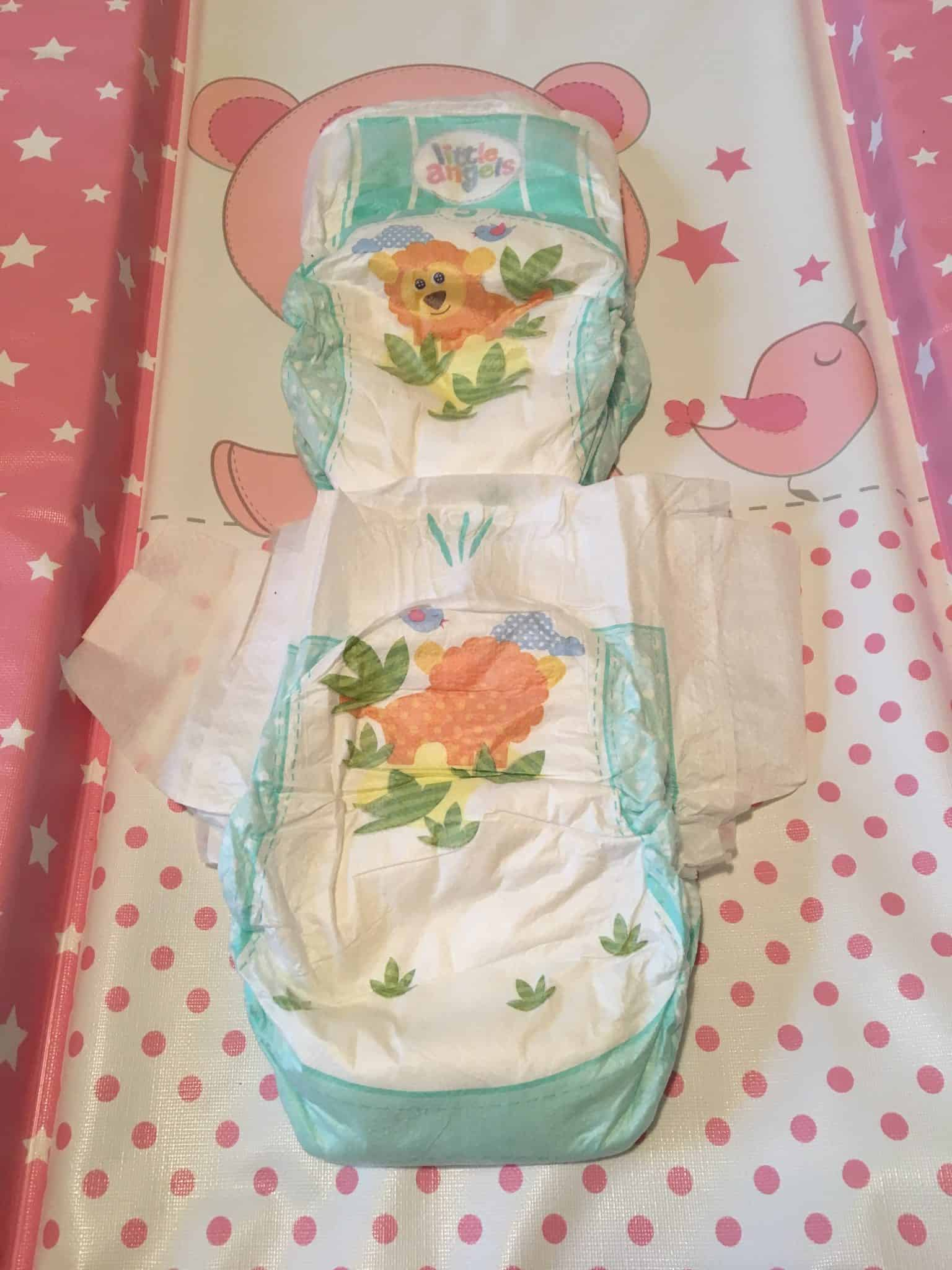 Comfort & Protect Nappies from Asda