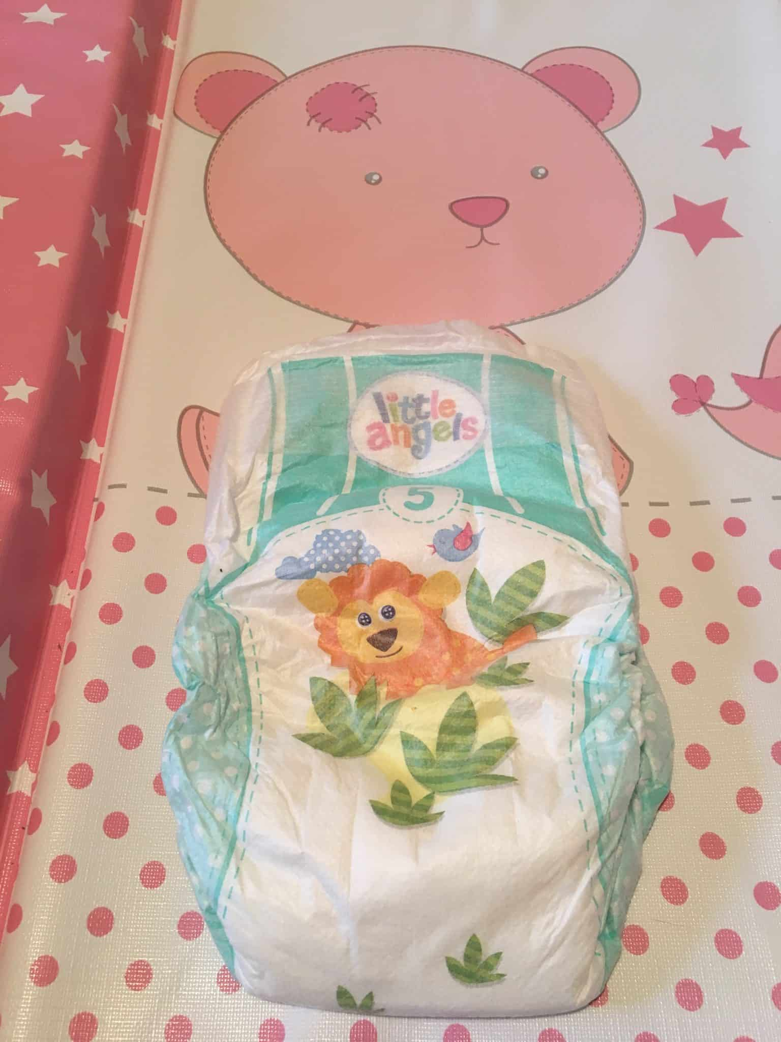 Little Angels Comfort & Protect Nappies from Asda