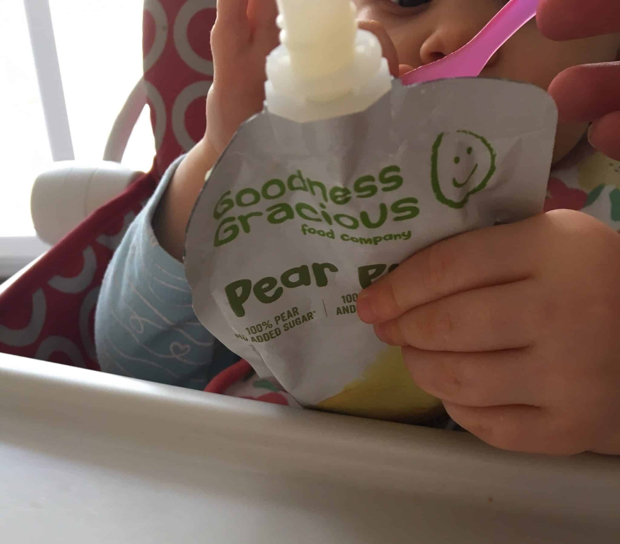Pear Puree from Goodness Gracious Foof Company