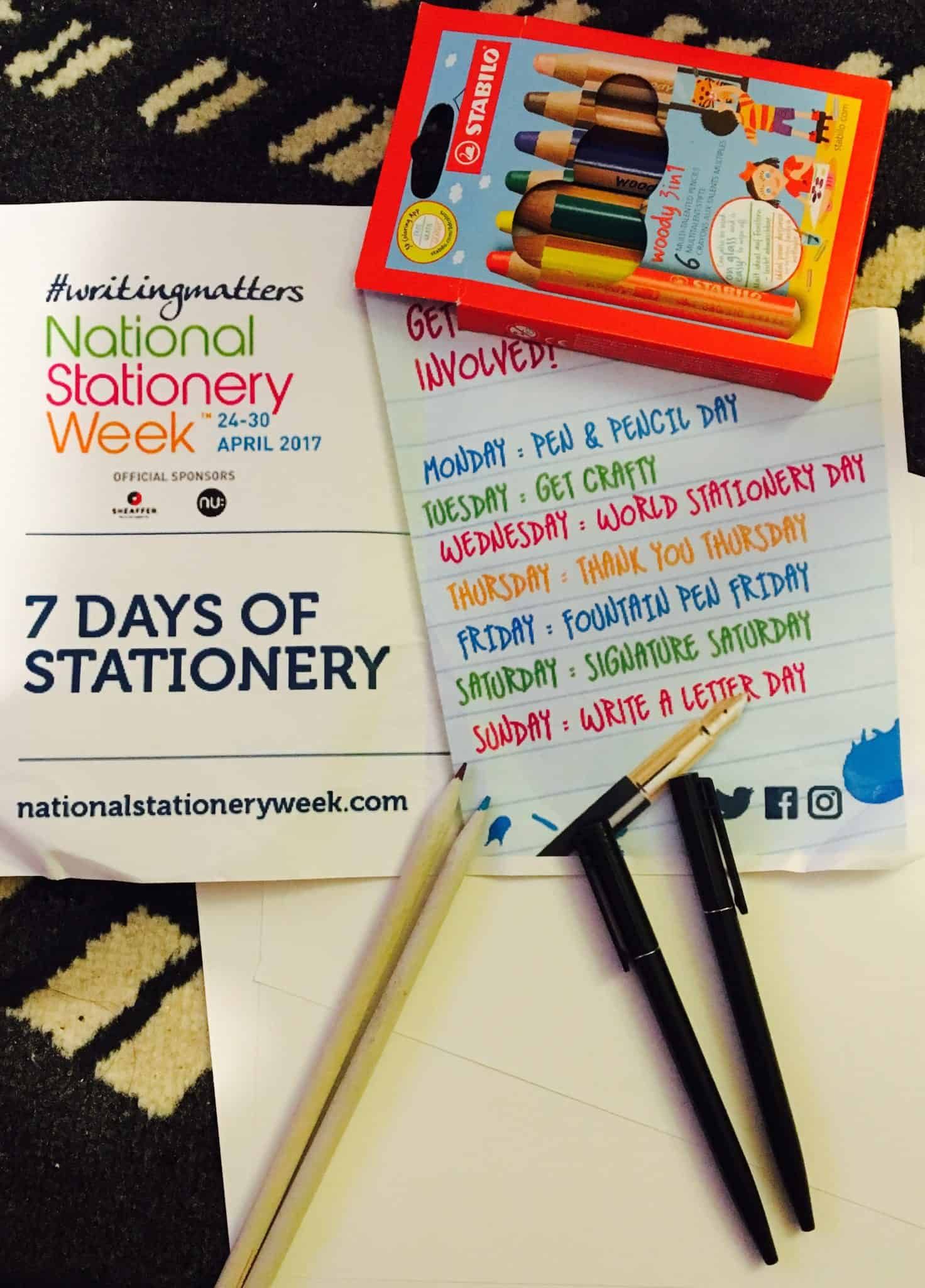 National Stationery Week 24-30th April 2017