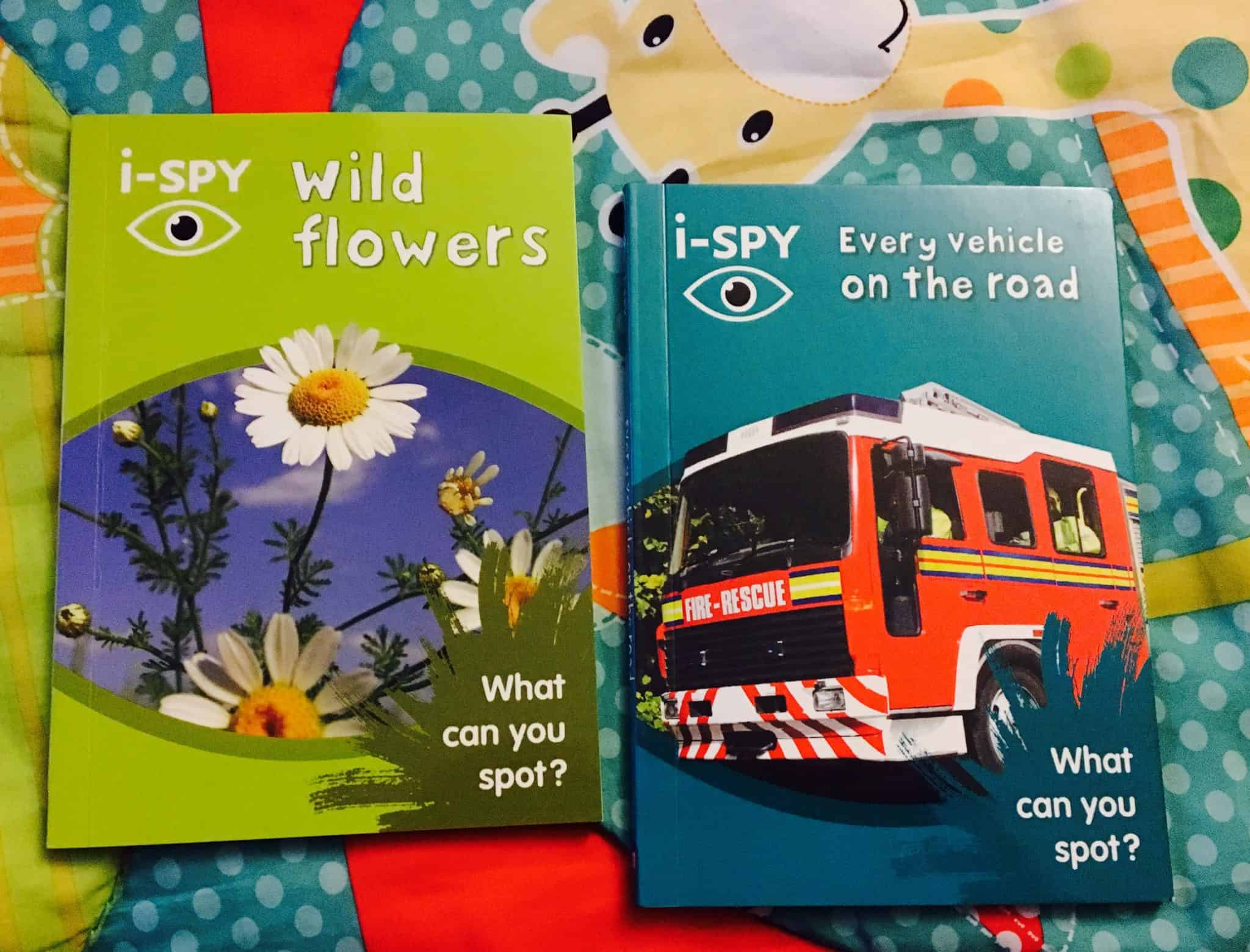 i-Spy Book Review and Giveaway