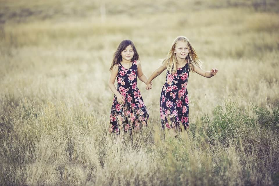 Why are the great outdoors so great? - Sisters playing