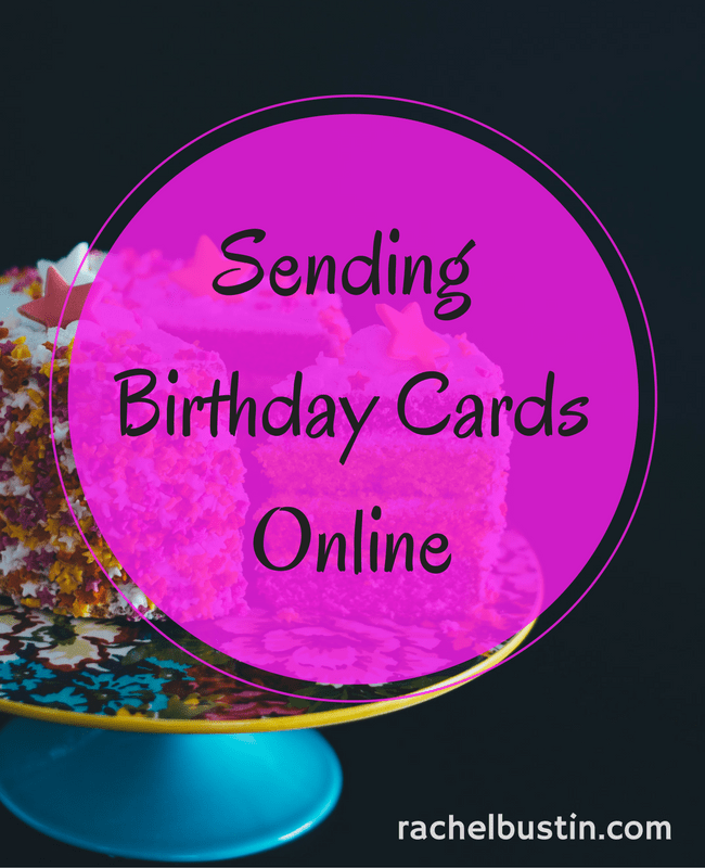 Sending Online Birthday Cards To Family