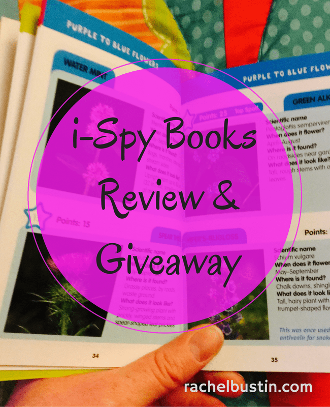 i-Spy Books Review & Giveaway