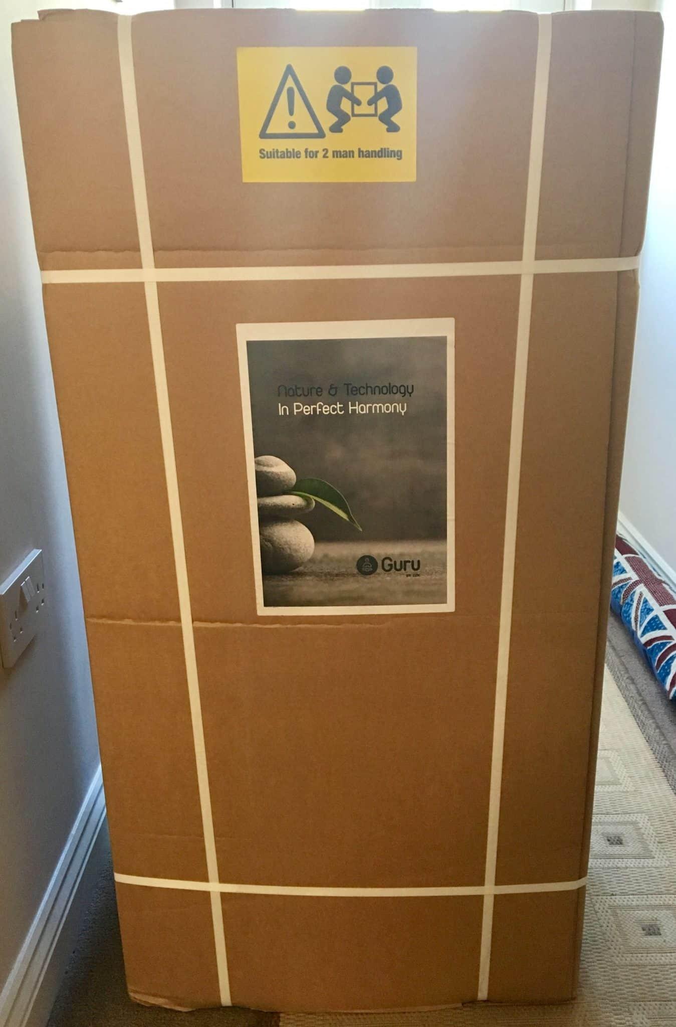Zen Guru Mattress in box