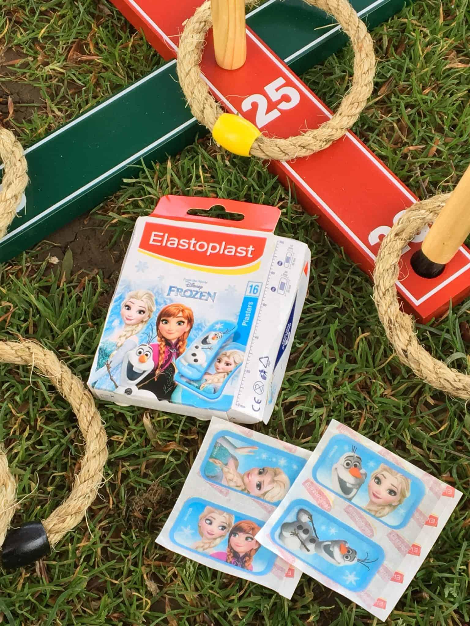 #TearsIntoSmiles Challenge with Frozen plasters from Elastoplast
