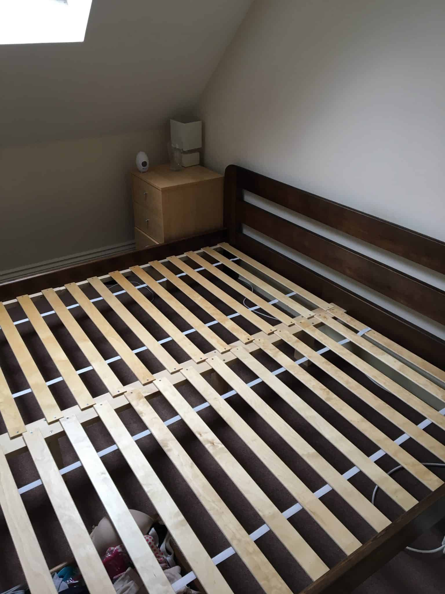 Bed ready for zen guru mattress
