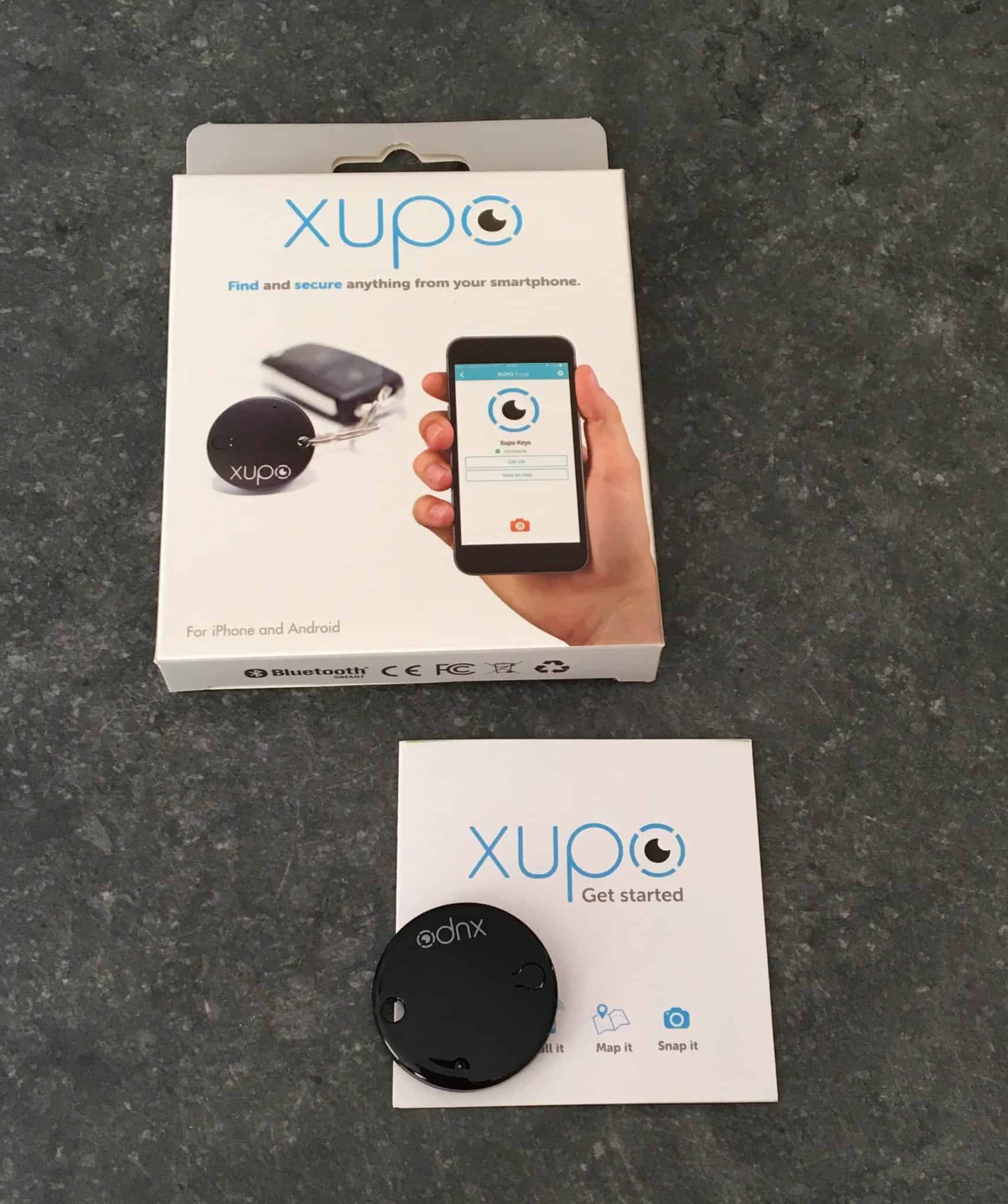 Xupo review and giveaway. Find and secure anything from your smartphone