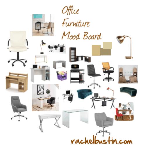 Office Furniture Mood Board