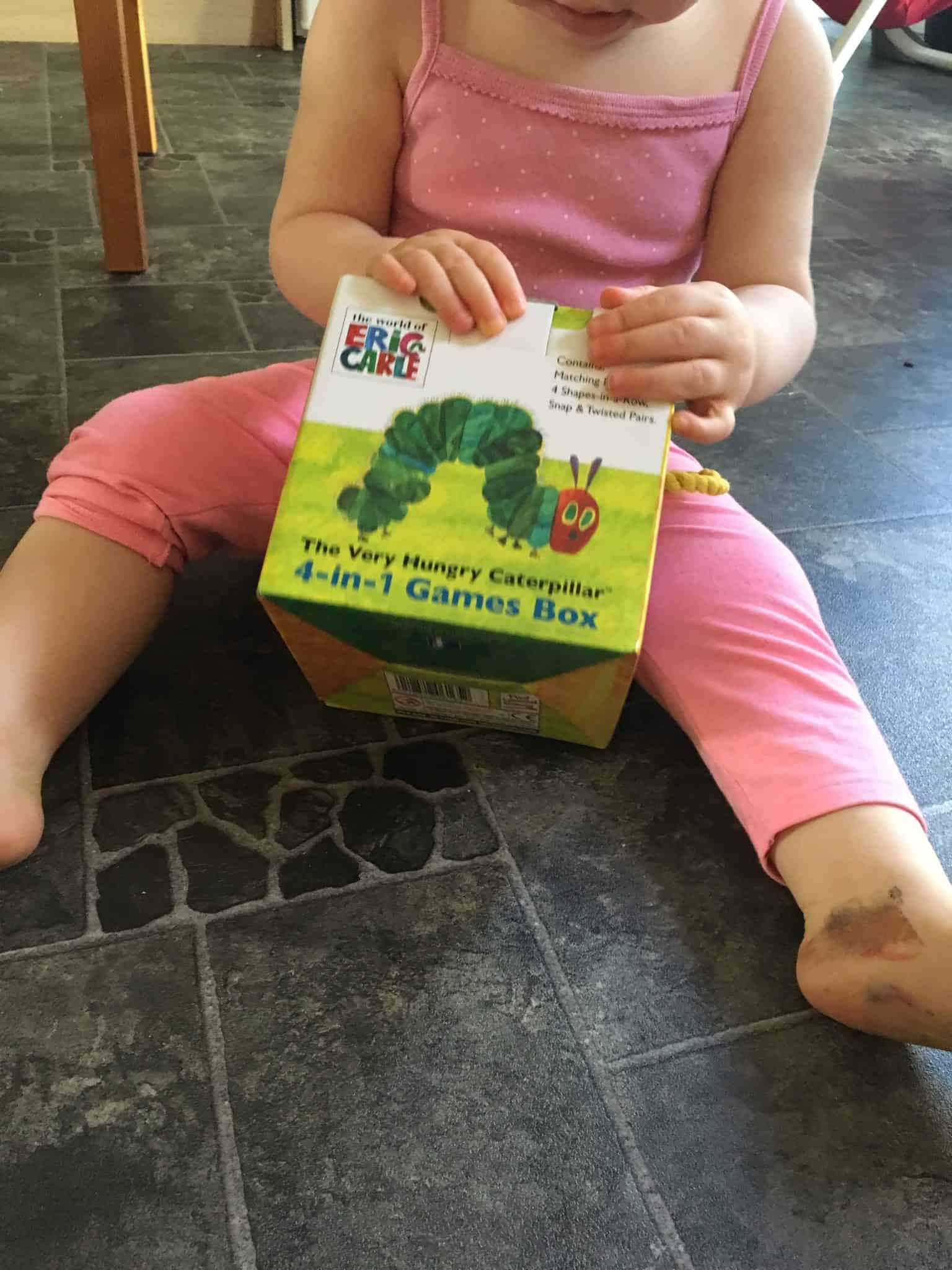 The Very Hungry Caterpillar 4 - IN- 1 games box