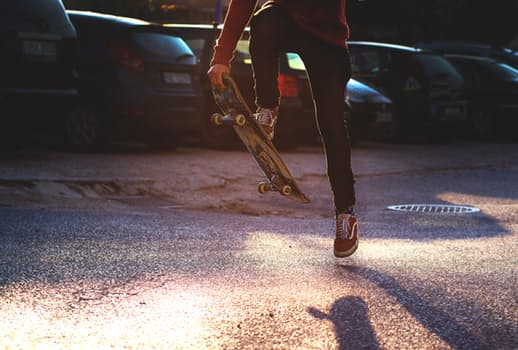 skateboarding - alternative ways to keep active
