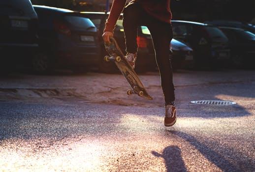 skateboarding - alternative ways to keep active