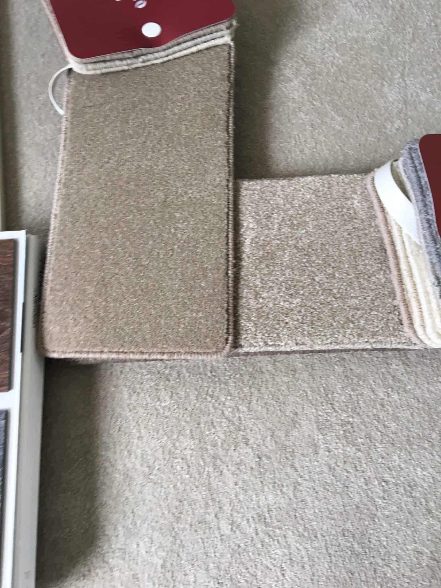 choosing the carpets