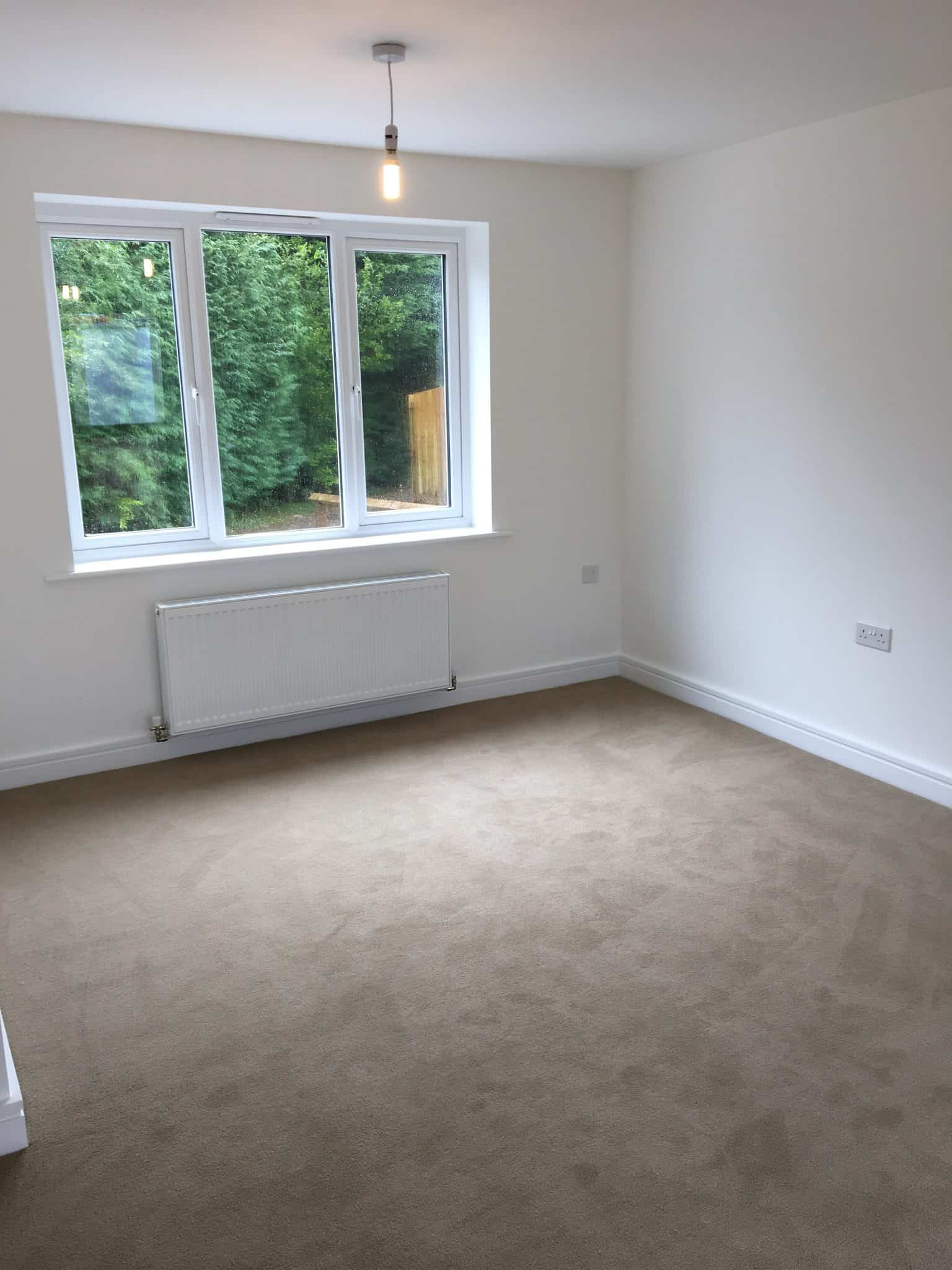 empty living room/lounge