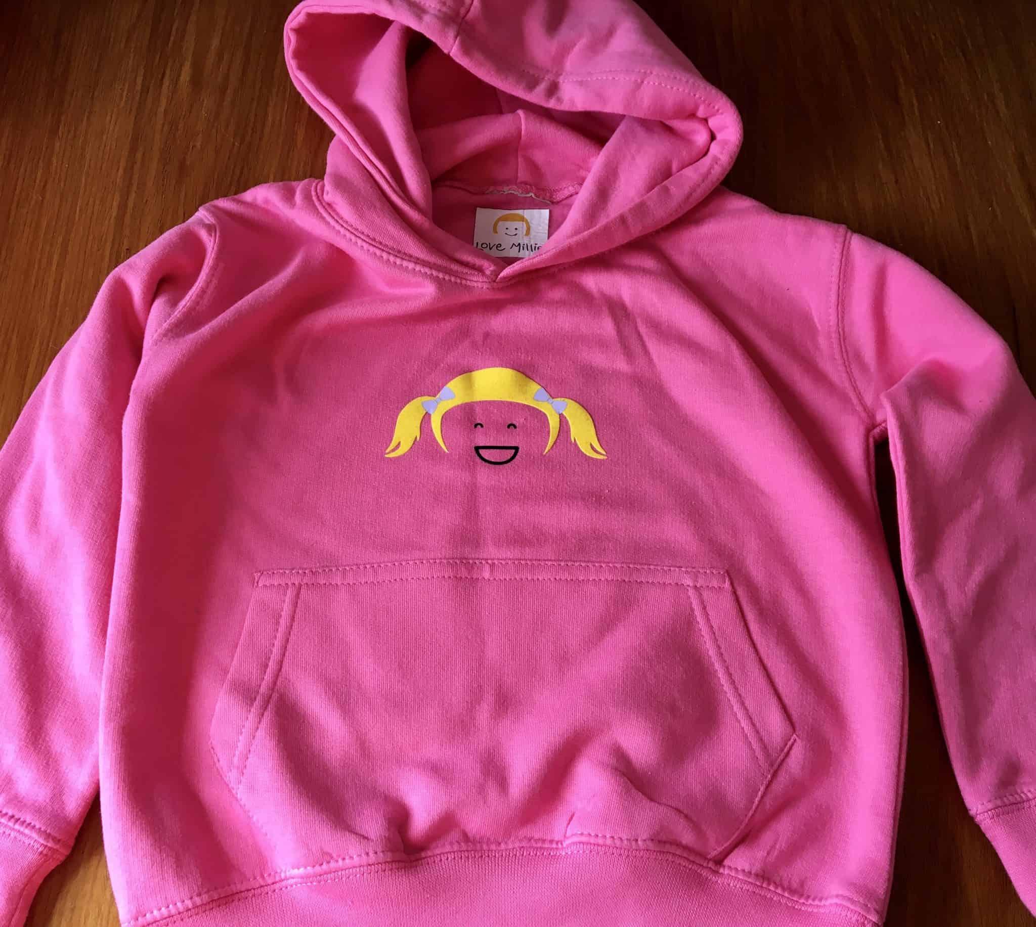 Love Millie kids Pink hoody