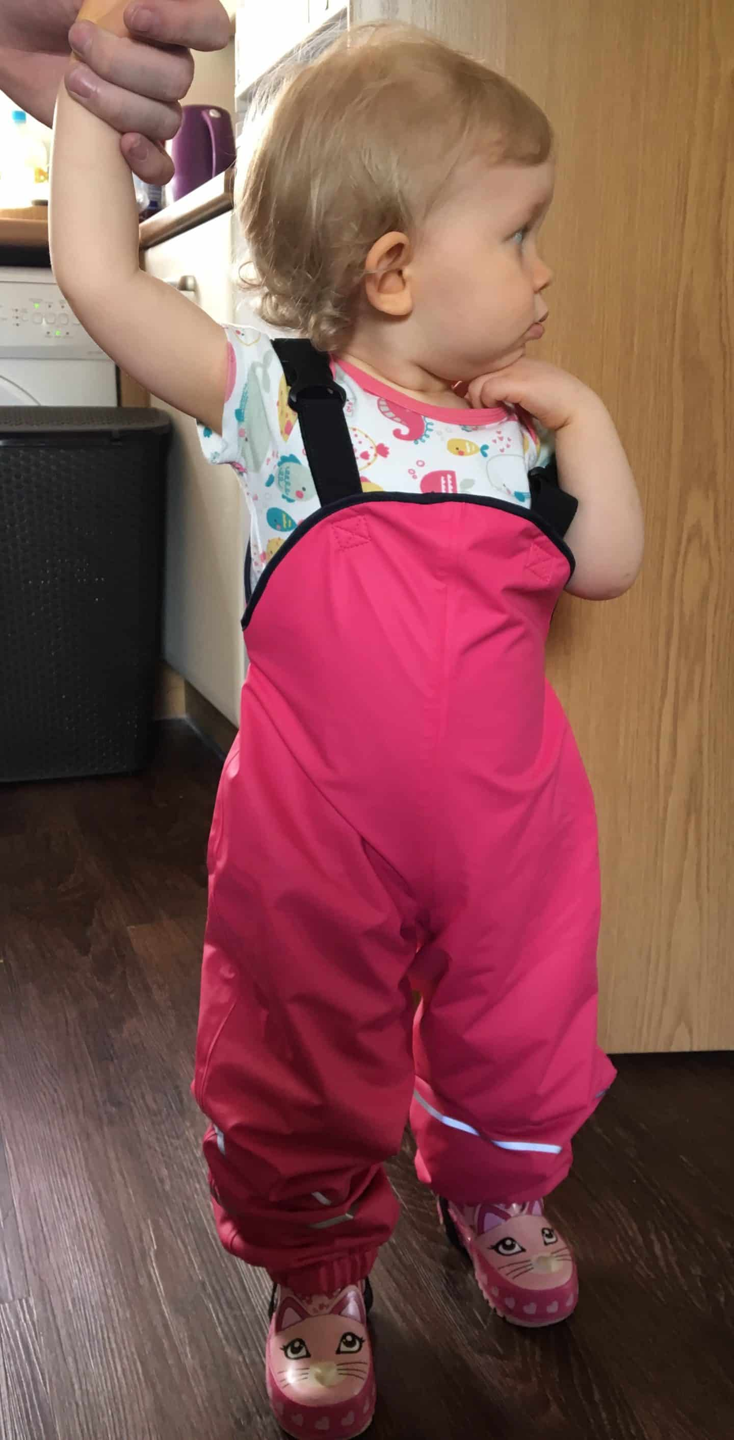 Dry Kids Water proof dungarees