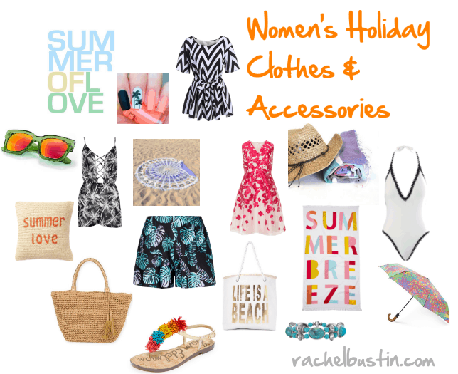 Summer Checklist – Women's Holiday Clothes and Accessories