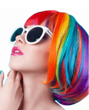 Acid Hair - Autumn Winter Hair trends