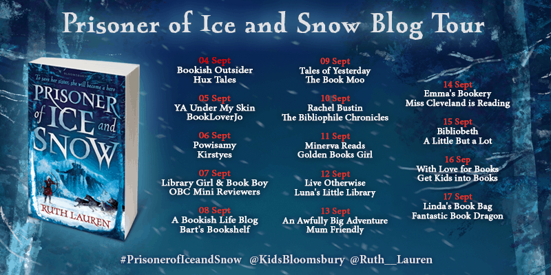 Blog tour for Prisoner of Ice and Snow