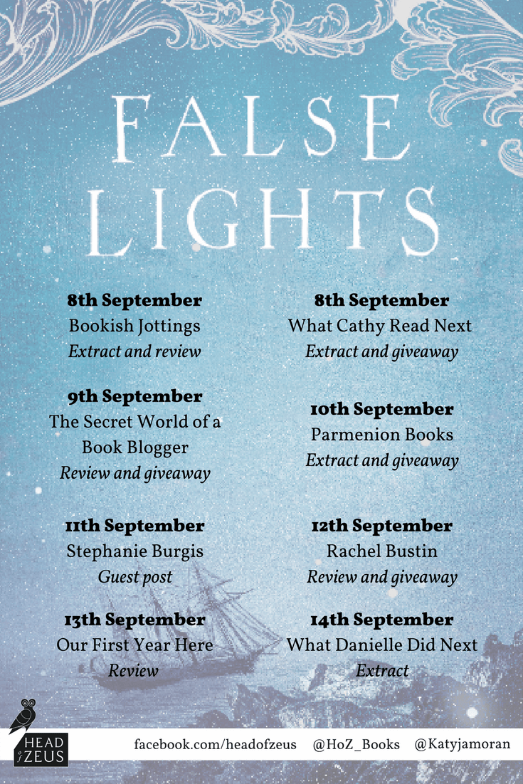 False Lights blog tour