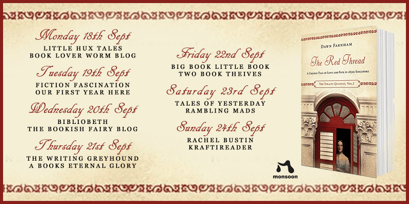 The Red Thread Blog Tour Banner