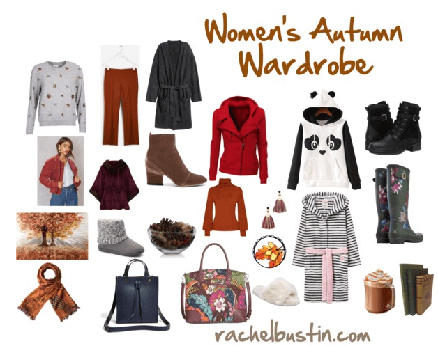 Autumn Checklist – Women's Autumn Wardrobe and Accessories