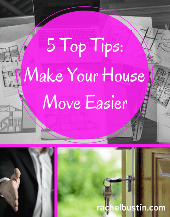 5 Top Tips - Make your House Move Easier