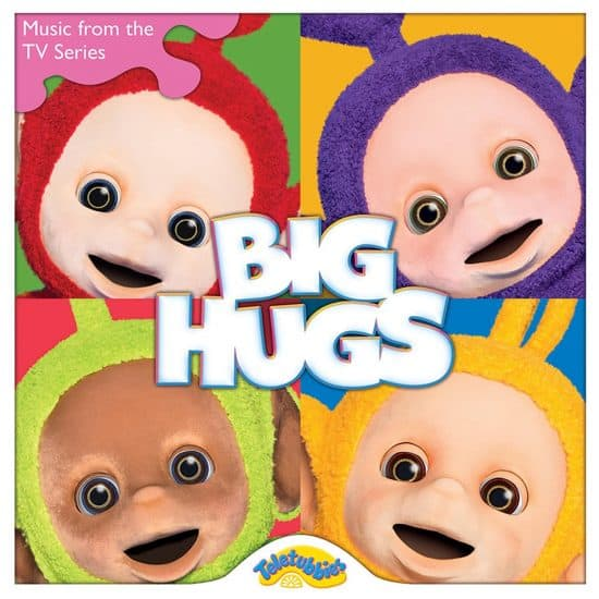 Teletubbies Big Hugs CD cover