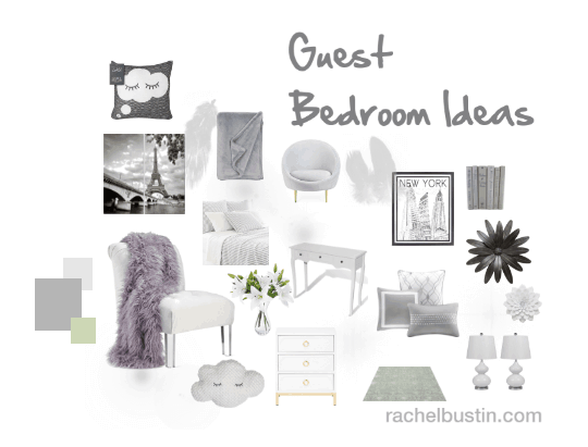 Guest bedroom ideas - #GuestBedReady