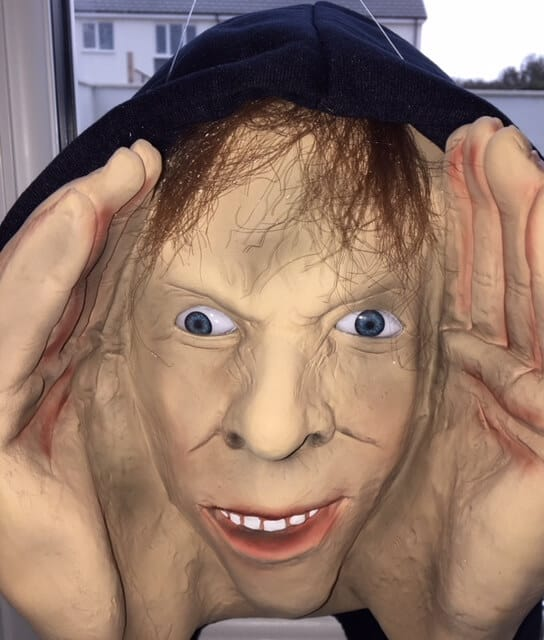 Halloween Peeping Tom Prop