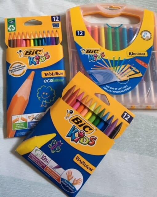 Evolution Colouring Pencils and Plastidecor Pack Couleur Durable Case