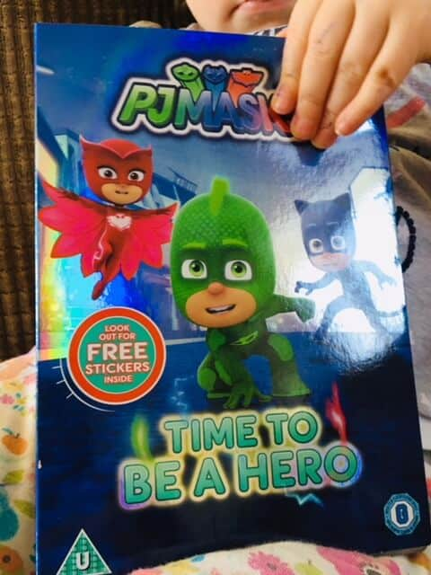 PJ Masks- Time to be a Hero DVD
