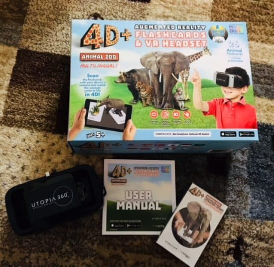 Utopia360° 4D+ Augmented and Virtual Reality Bundle