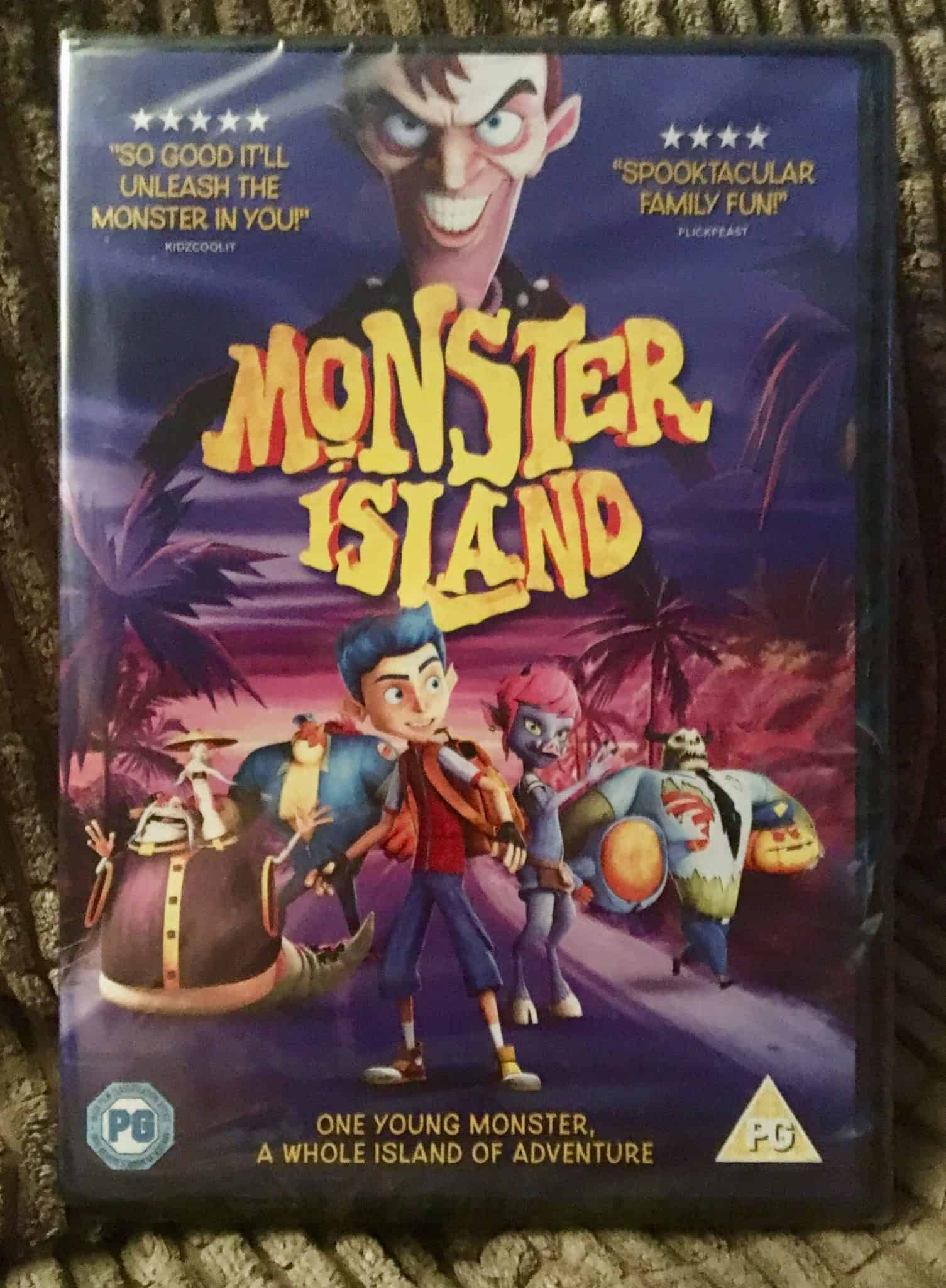 Monster Island DVD