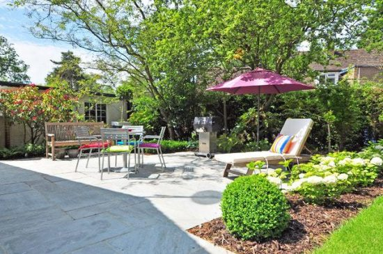 creating privacy in a garden