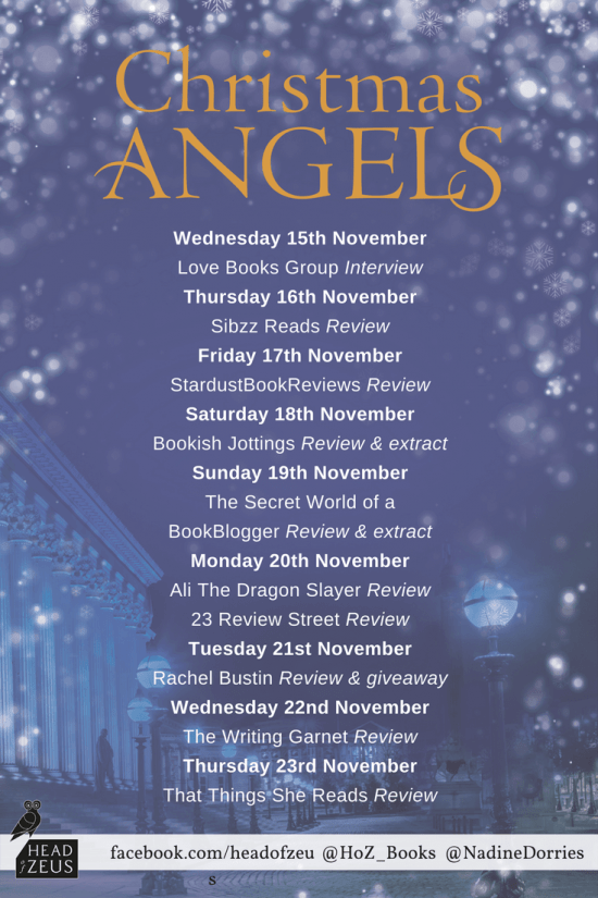 Christmas Angels blog tour
