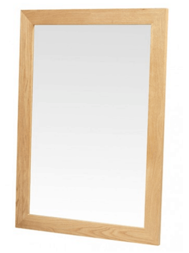 Cuba Oak Mirror - Small Living room spaces