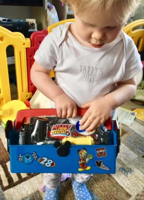 Mickey Mouse and the Pit Crew Tool Box