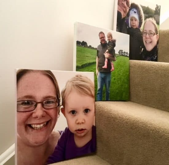 Personalised Wall prints from Bags of Love