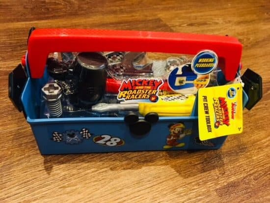 Mickey Roadster Racers Pit Crew Toolbox Review