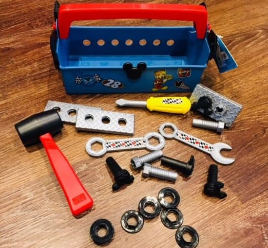 Pit Crew Toolbox and contents