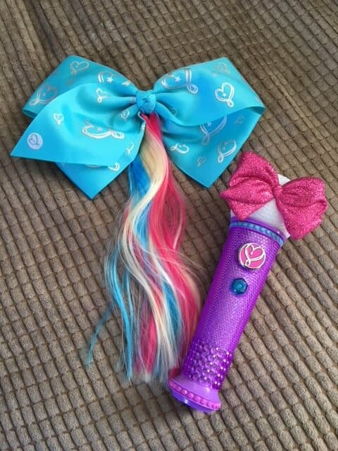 JoJo Siwa Microphone and Bodacious Bow